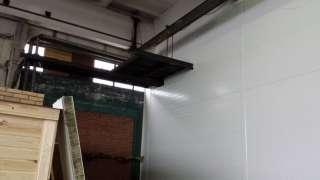 Внутрицеховая противопожарная перегородка из сэндвич-панелей