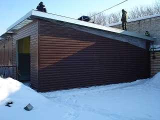 Здания 2х гаражей