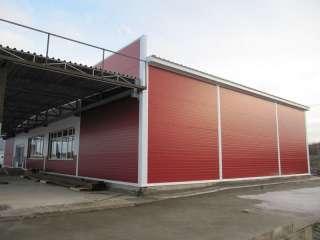 Устройство придорожного сервиса размерами 30х15м