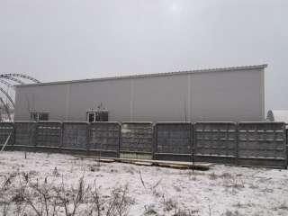 Восстановление ангара для грузовых машин
